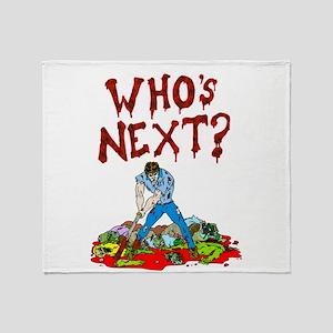 WHos next Throw Blanket