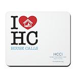 I Heart House Calls Mouse Pad