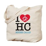 I Heart House Calls Canvas Tote Bag