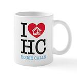I Heart House Calls 11 Oz Ceramic Mug Mugs