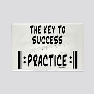 Key to Success Rectangle Magnet