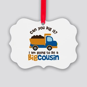Dump Truck Big Cousin to be Ornament