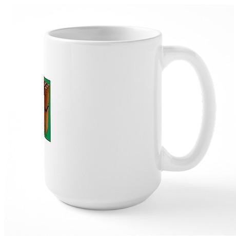 I Play Kubb Large Mug