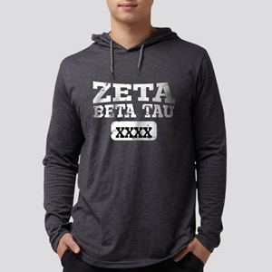 Zeta Beta Tau Athletics Mens Hooded Shirt