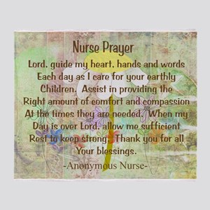 Nurse Prayer Blanket Size Yellow Stadium Blan
