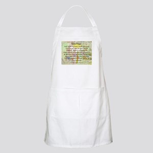 Nurse Prayer Blanket Size Yellow Apron