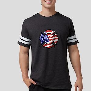 U.S. Firefighter Mens Football Shirt