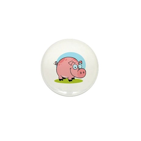 Pig Mini Button (100 pack)