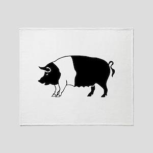 Pig Throw Blanket