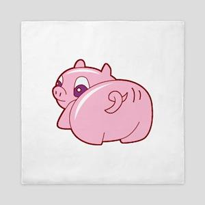 Pig Queen Duvet