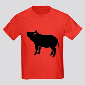 Pig Kids Dark T-Shirt