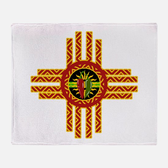 CHILE ZIA Throw Blanket