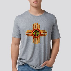CHILE ZIA Mens Tri-blend T-Shirt