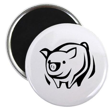 """Pig 2.25"""" Magnet (100 pack)"""