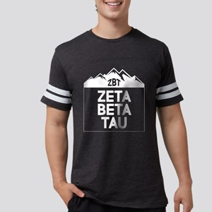 Zeta Beta Tau Mountains Mens Football Shirt