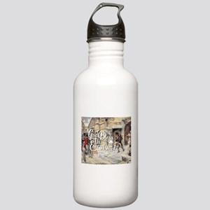 God Bless Us Every One Stainless Water Bottle 1.0L