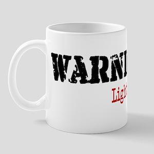 Warning Lighter Thief Mug