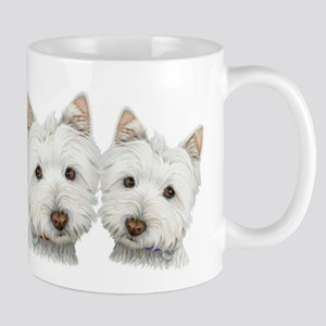 Two Cute West Highland White Dogs Mug