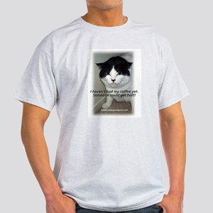 Grumpy Cats 2 Ash Grey T-Shirt