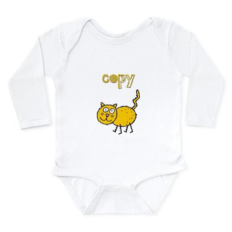 Copy Cat Long Sleeve Infant Bodysuit