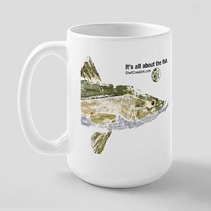 big snook for cafe press 2 Mugs
