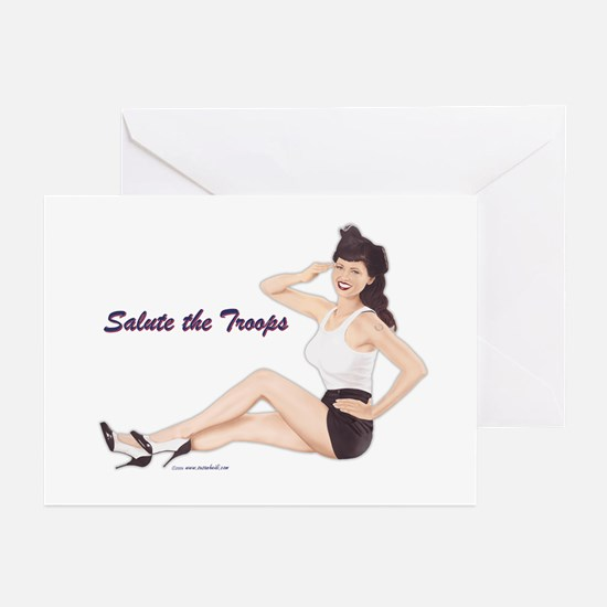 Patriotic Pin-Up Greeting Cards (Pk of 10)
