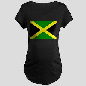 Jamaica Maternity Dark T-Shirt