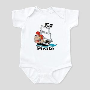 Pirate Boat Infant Creeper