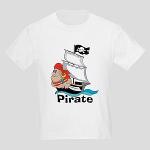 Pirate Boat Kids T-Shirt