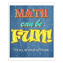 Math Can Be Fun Poster