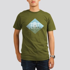 Zeta Beta Tau Mountains Diamonds Blue T-Shirt