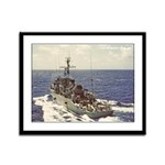 USS FEARLESS Framed Panel Print