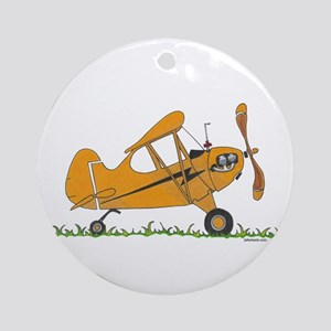 Cub Airplane Ornament (Round)
