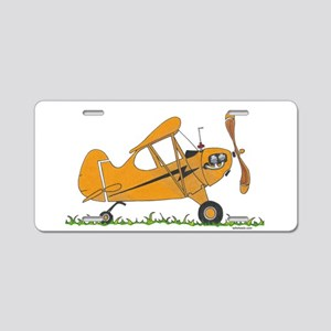 Cub Airplane Aluminum License Plate