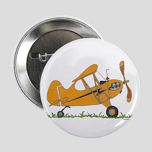 """Cub Airplane 2.25"""" Button"""
