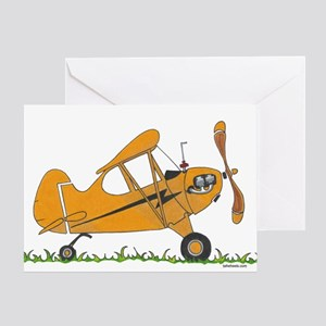 Cub Airplane Greeting Card