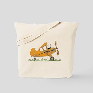 Cub Airplane Tote Bag