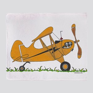 Cub Airplane Throw Blanket