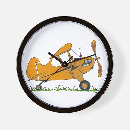 Cub Airplane Wall Clock