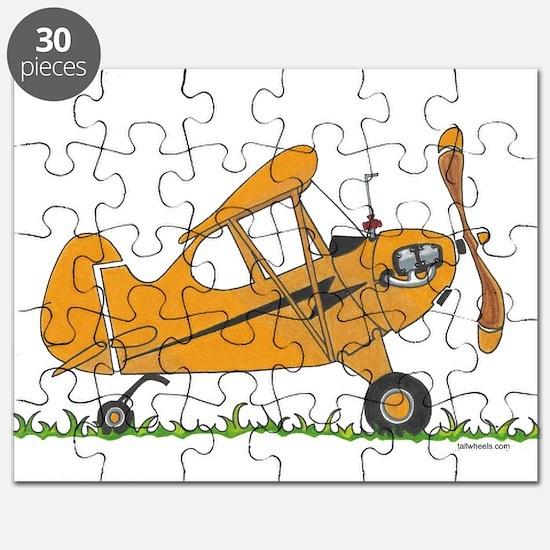 Cub Airplane Puzzle