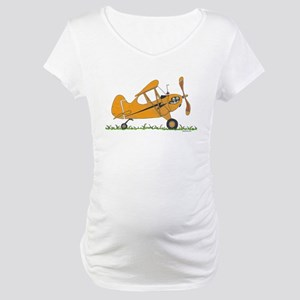 Cub Airplane Maternity T-Shirt