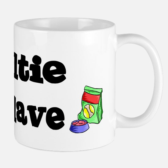 Sheltie FOOD SLAVE Mug