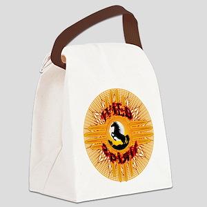 WILD SPIRIT ZIA Canvas Lunch Bag