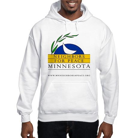 Minnesota Neighbors for Peace Hooded Sweatshirt