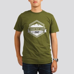 Zeta Beta Tau Mountains Ribbon T-Shirt