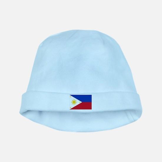 Philippine flag baby hat