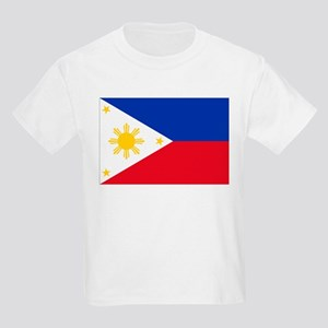Philippine flag Kids Light T-Shirt