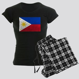 Philippine flag Women's Dark Pajamas