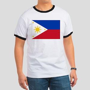Philippine flag Ringer T