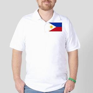 Philippine flag Golf Shirt